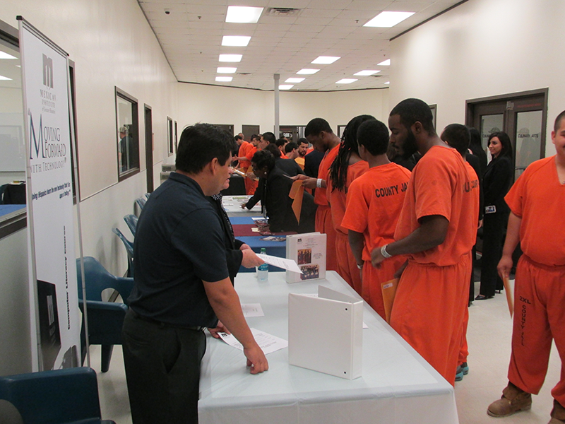 Vocational Program Prepares Harris County Jail Inmates For Job Life