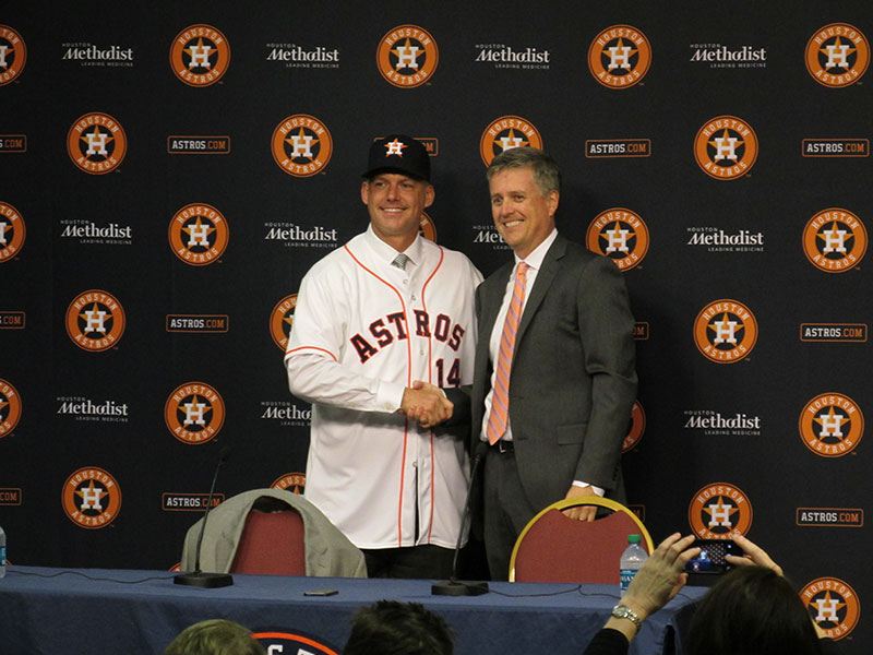 New Astros manager