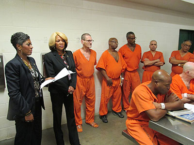 Stars and Stripes program at the Harris County Jail