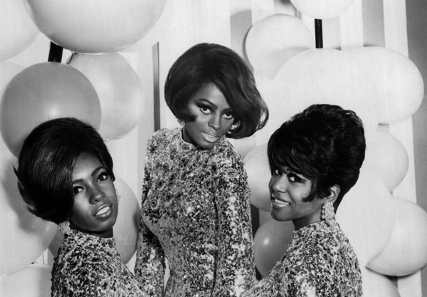 The Supremes in 1967.
