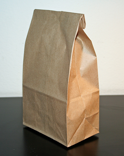 brown bag sack lunch