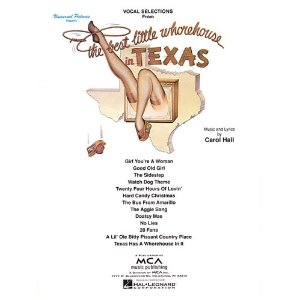 1978 musical The Best Little Whorehouse in Texas