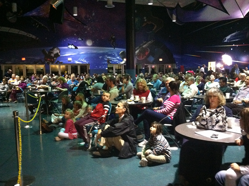 Houstonians await the launch of the Orion spacecraft