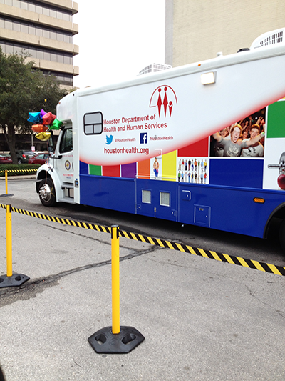 city-of houston hiv mobile clinic