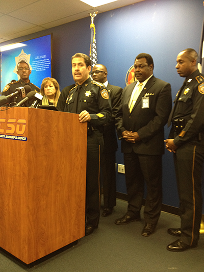 Sheriff Garcia: Things We're Looking To Change – Houston Public Media