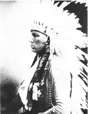 Quanah Parker in Headdress