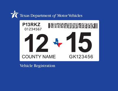 Texas rolls out one sticker system for car inspection registration houston public media