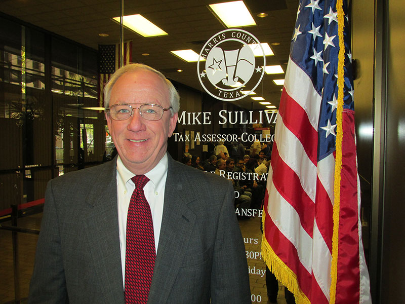Harris County Tax Assessor-Collector Mike Sullivan