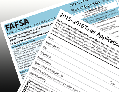 FAFSA and TXFSA application graphic