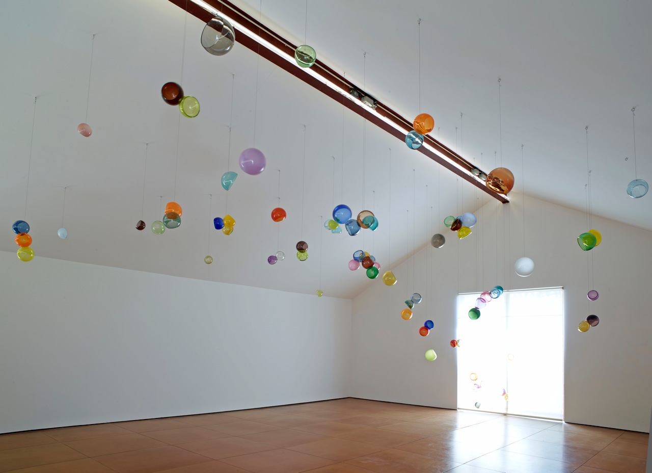 Michael Petry's AT the core of the Algorithm 2014 blown glass