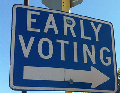 45 polling stations making early balloting available in Harris County