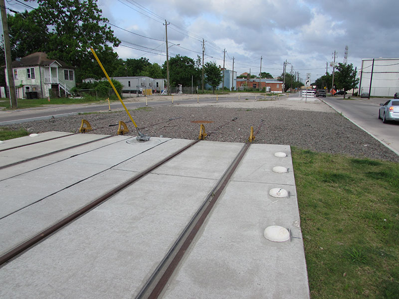 East End light rail line tracks
