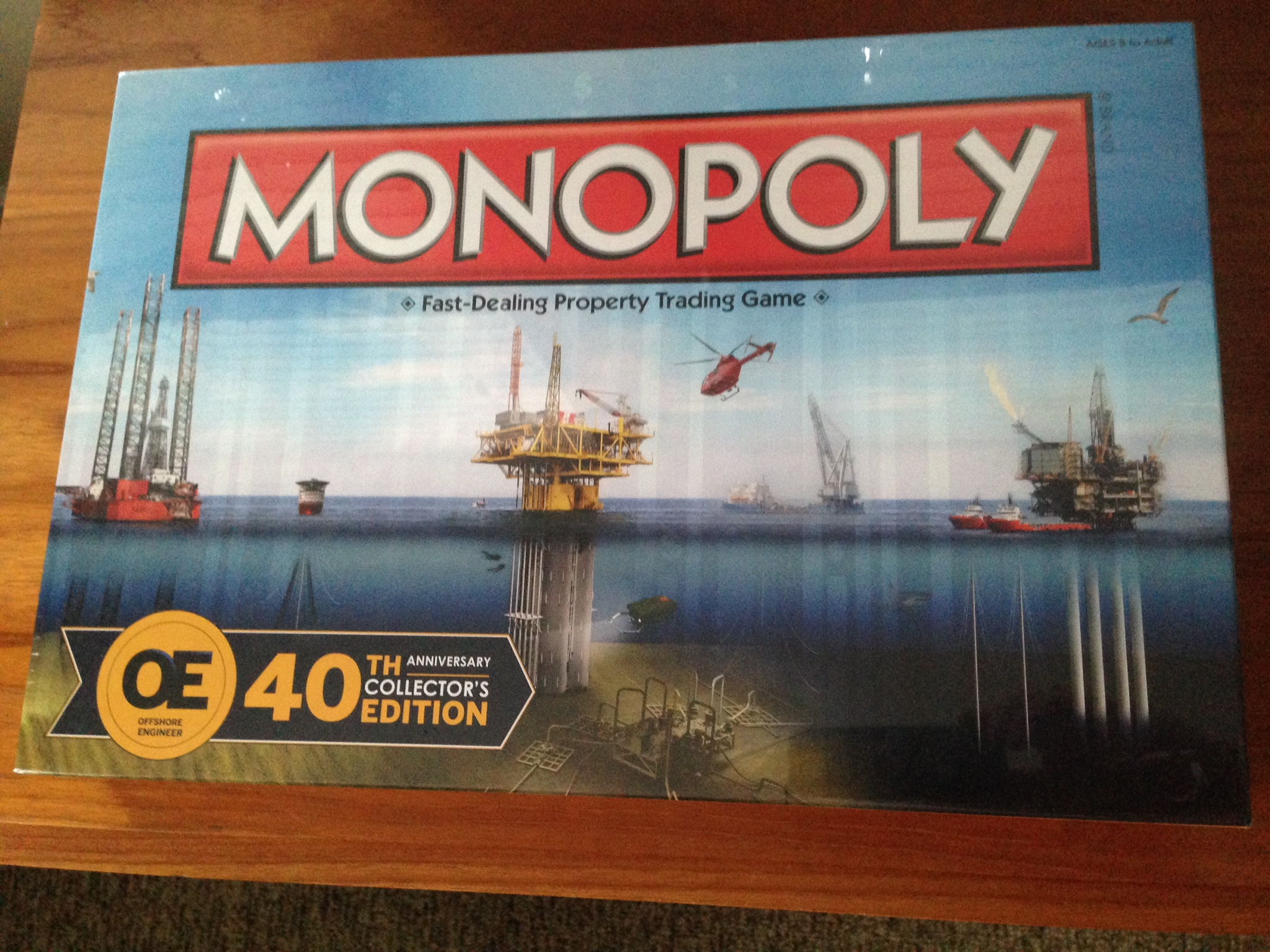 The First Ever Oil Industry Themed Version Of Monopoly Lets Players Buy Up Companies Like Halliburton And National Oilwell Varco In Place Usual