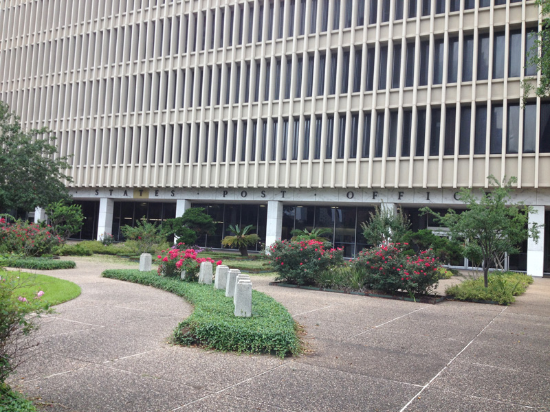 The Houston Post Office Downtown closed its doors