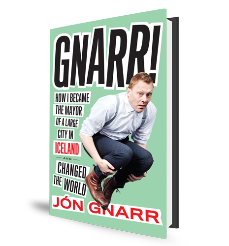 Jon Gnarr Book Cover