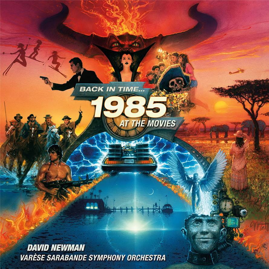 1985 at the Movies CD artwork