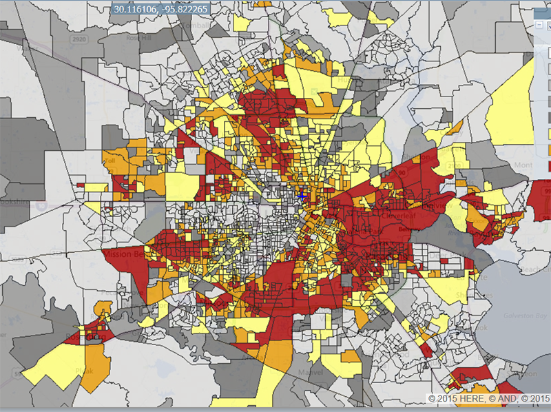 EPA Mapping Tool Shows Houston\'s Hot Spots Of Toxic Risk ...