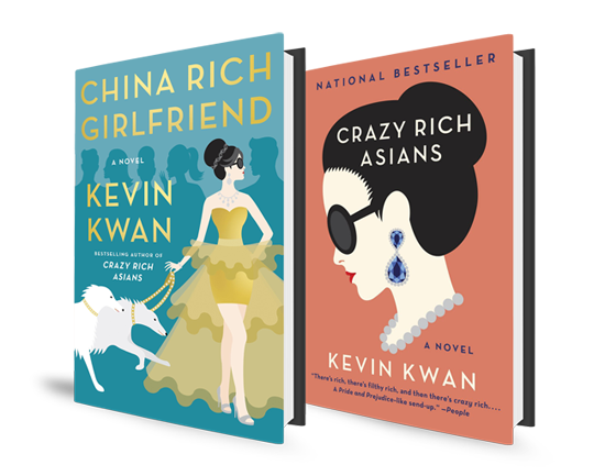Kevin Kwan Book Covers Crazy Rich Asians China Rich Girlfriend
