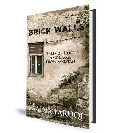 Saadia Faruqi Brick Walls Book Cover