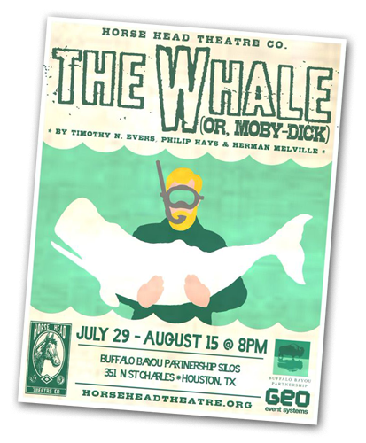 The Whale Poster Horse Head Theatre