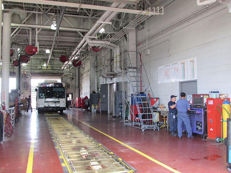 Fallbrook maintenance facility