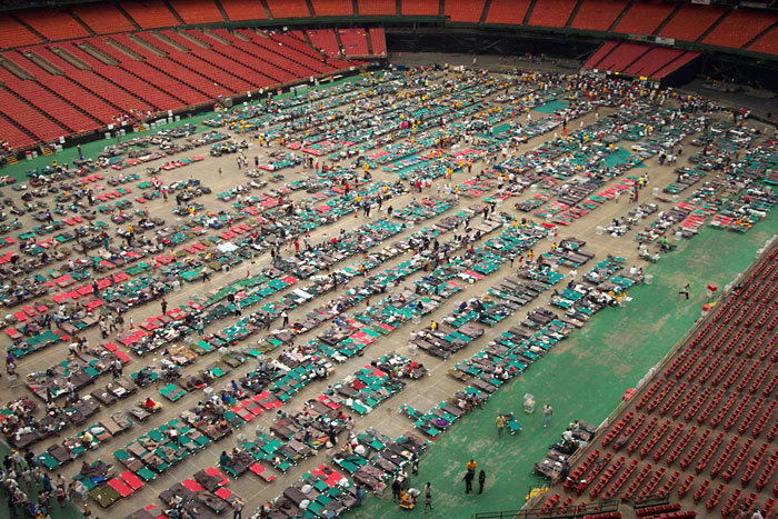10 Years Since Katrina: When The Astrodome Was A Mass ...