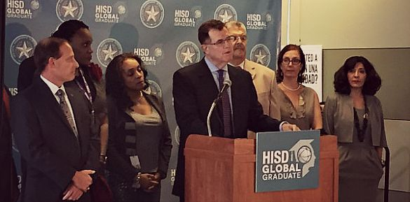 Terry Grier Resigns HISD Superintendent