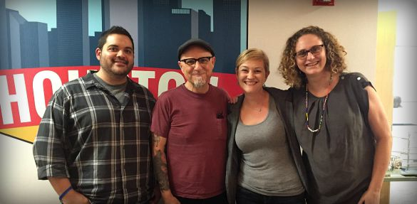 Bobcat Goldthwait Comedian Houston Matters Staff