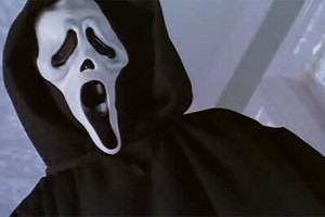 Ghostface, the fictional antagonist of the Scream films