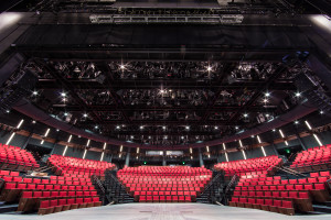 Picture of theater from stage