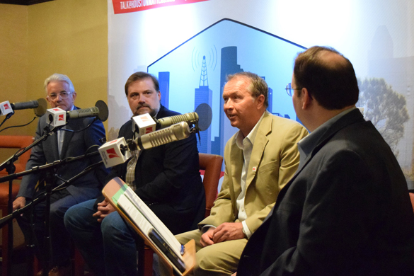Energy journalists Russ Capper, Loren Steffy and Dave Fehling talk with host Craig Cohen.