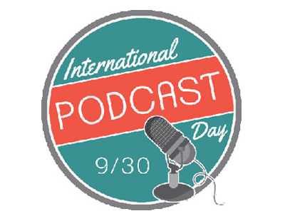 International Podcast Day Logo