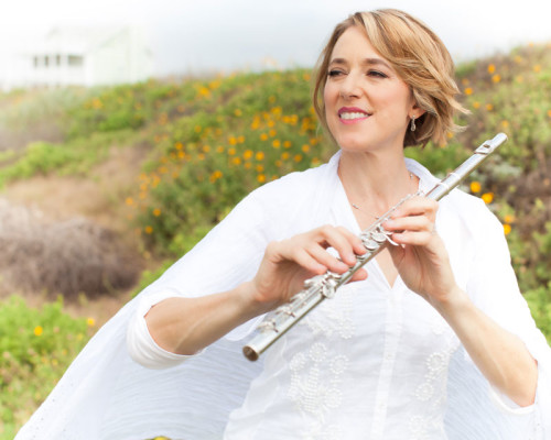 Aralee Dorough, Houston Symphony Principal Flutist