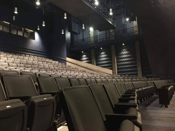 Theater in the new MATCH performance venue