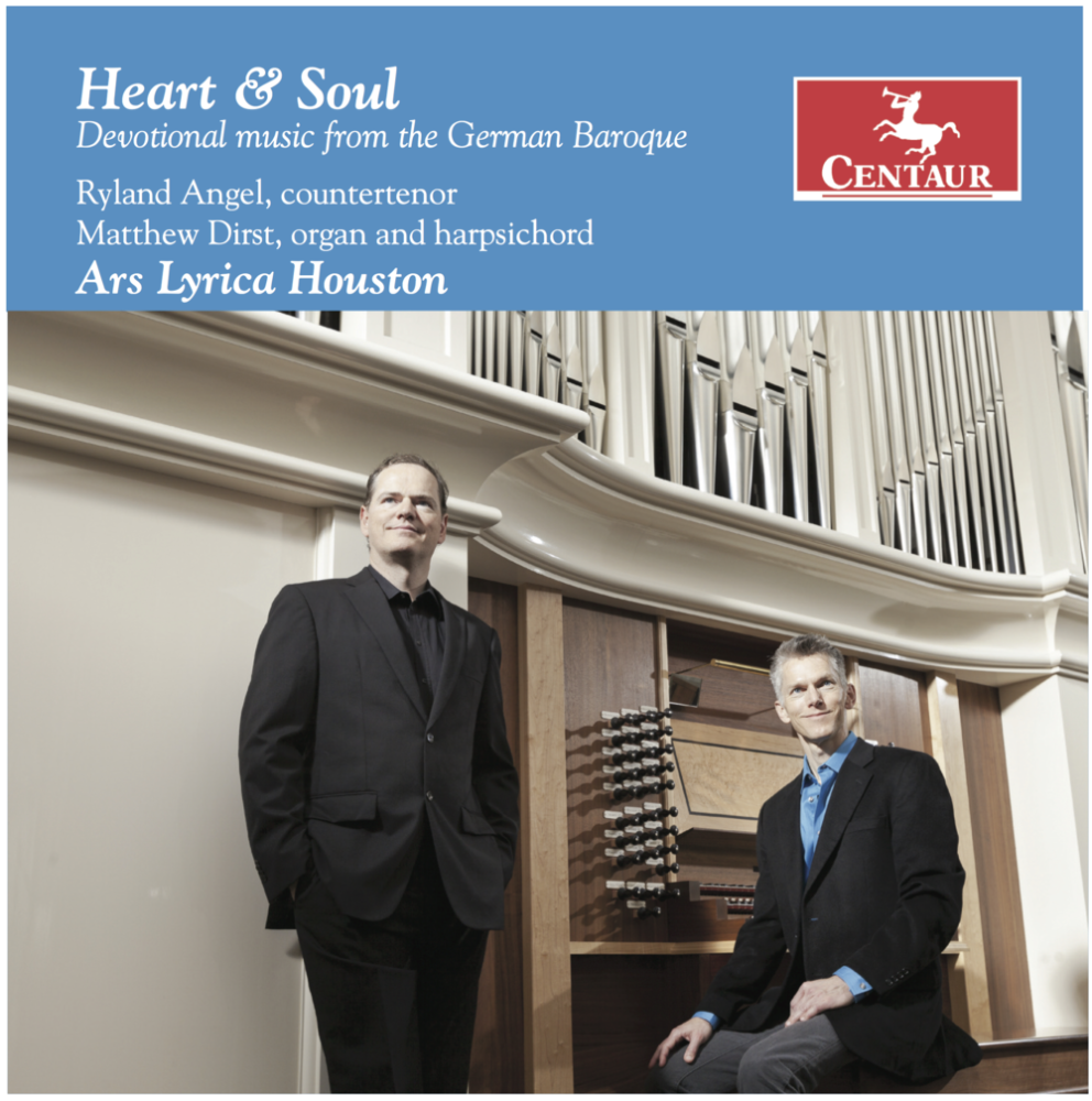 Cover of Heart & Soul CD by Ars Lyrica Houston