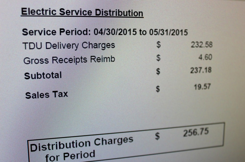 The extra charges Mehran Rahbar found on his electricity bill