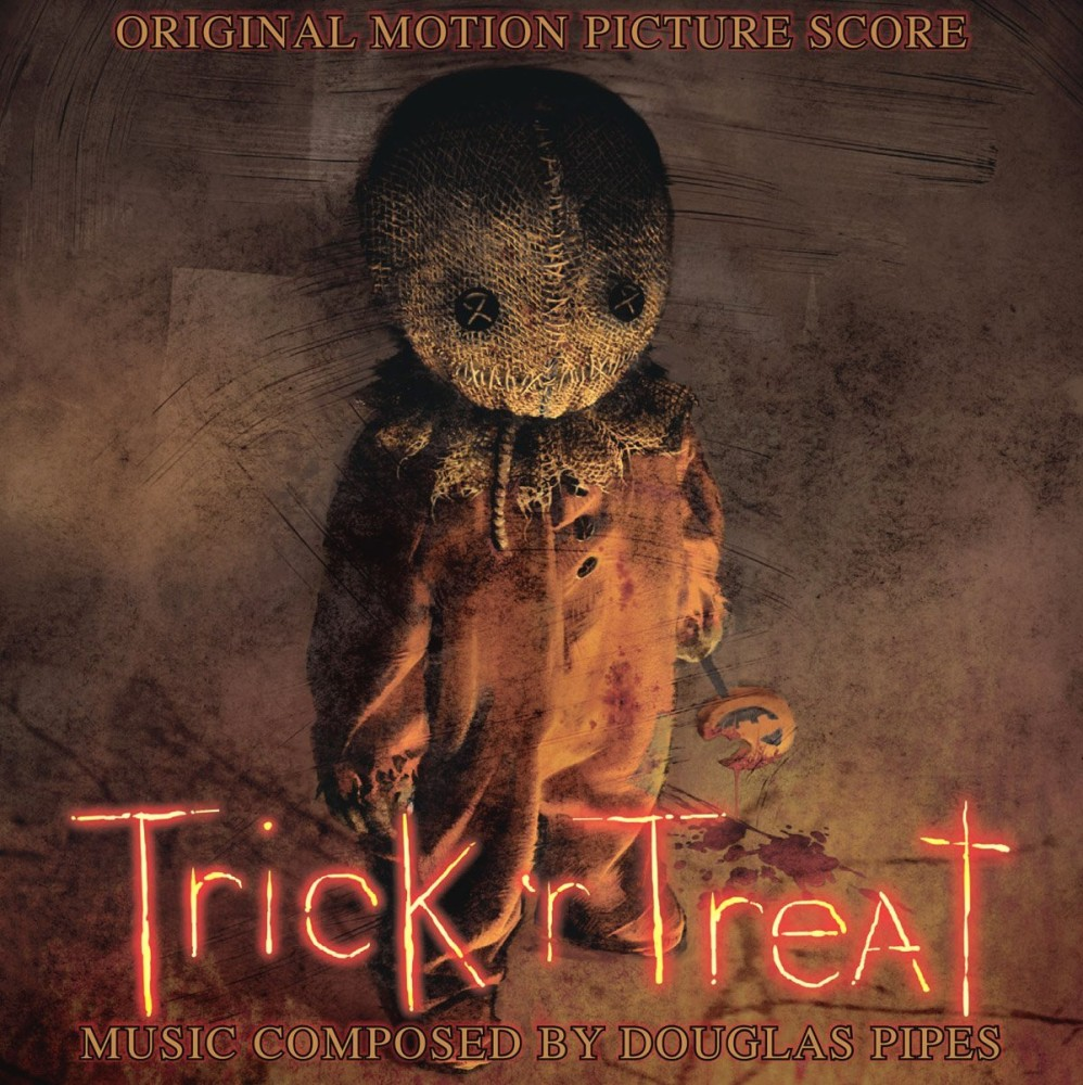 Cover art to the film score to Trick 'r Treat