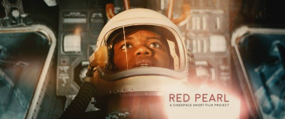 Red Pearl Movie Banner Mars Space Houston Cinema Arts Festival