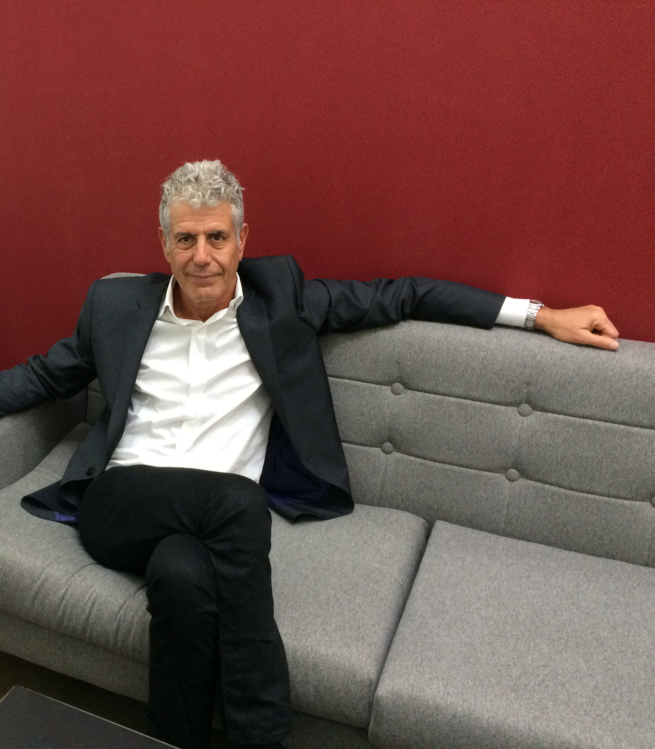 Anthony Bourdain On Food, Art, And His Favorite Place To Eat In The Bayou City | Houston Public Media