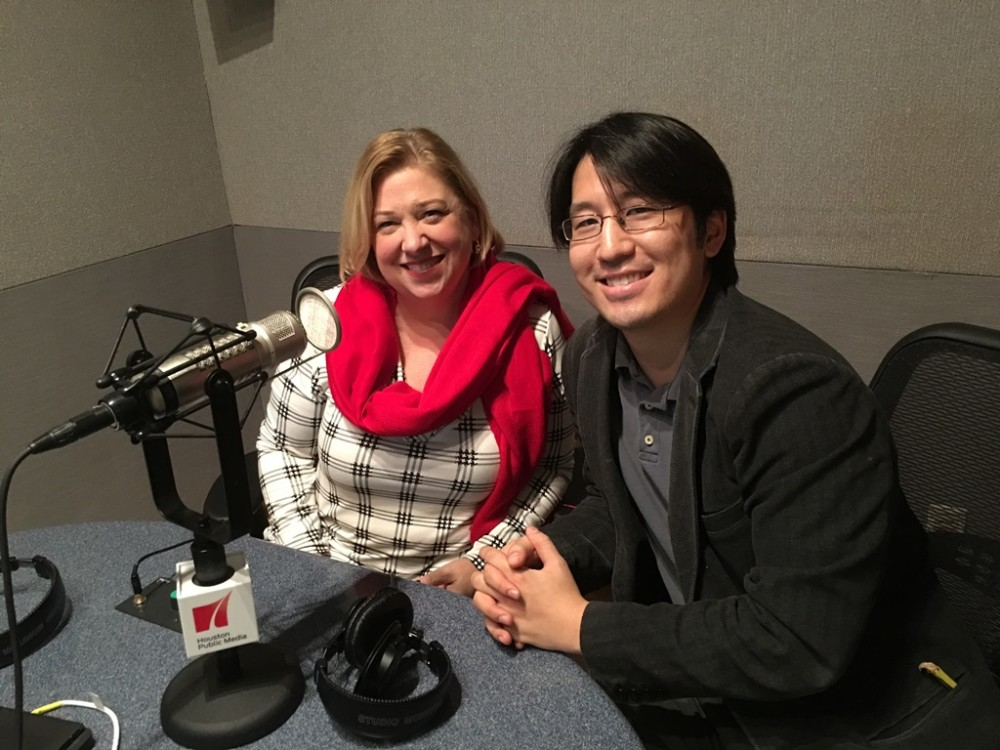 Opera in the Heights stage director Lynda Keith McKnight and music director Eiki Isomura