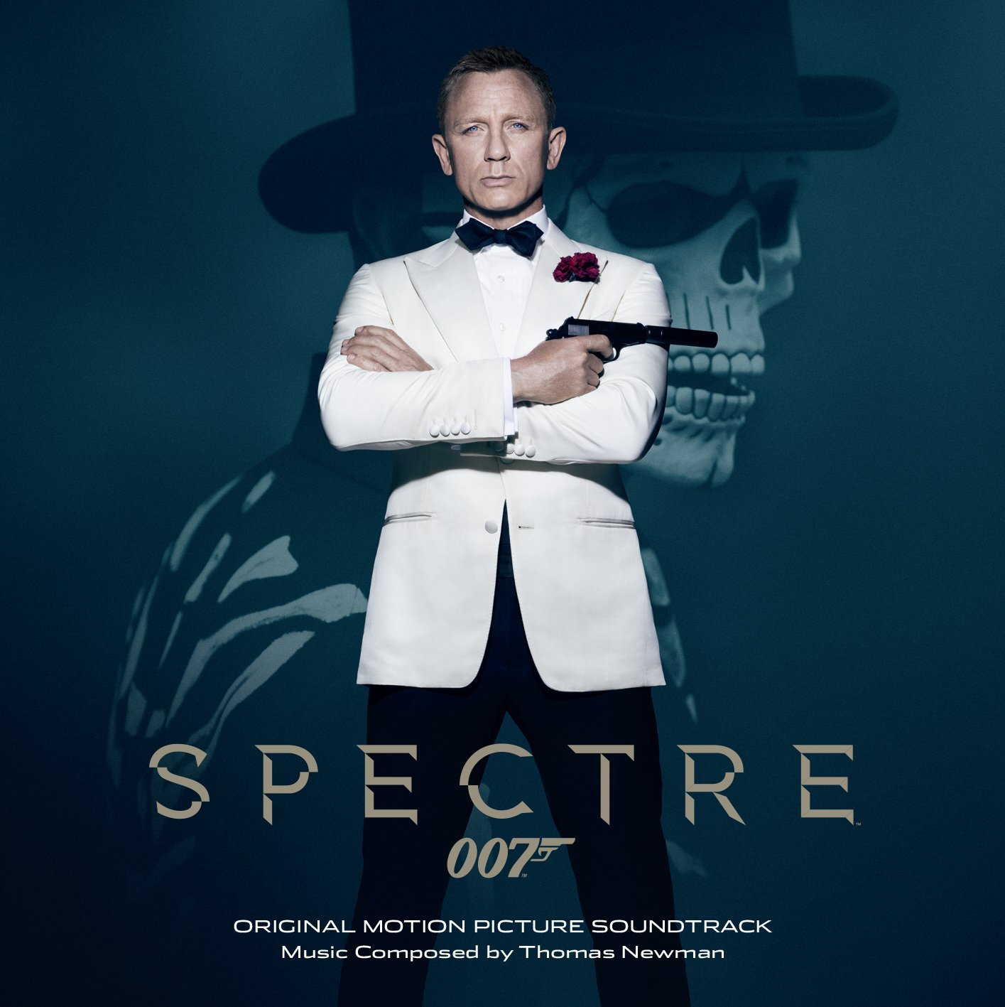 The album artwork for the soundtrack to SPECTRE