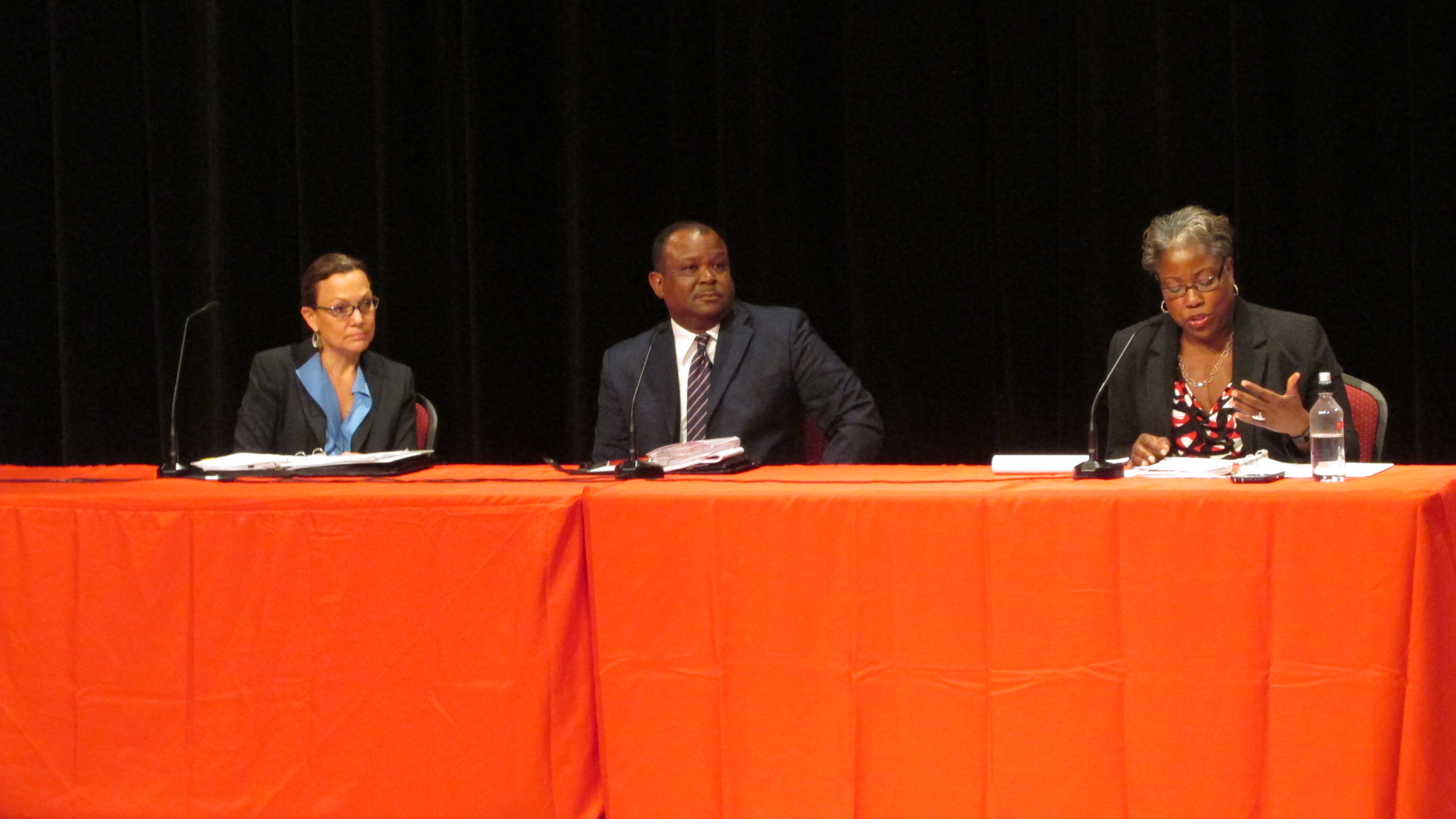 Leaders of the UH Campus Carry work group lead a forum on the subject