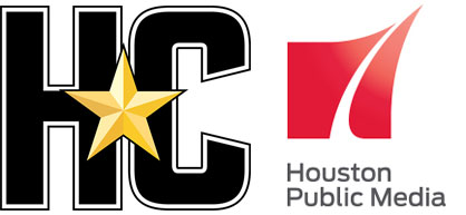 Houston Chronicle and Houston Public Media News 88.7 logos