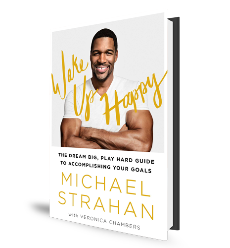 Wake Up Happy Michael Strahan Book Cover