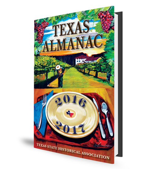 Texas Almanac Book Cover