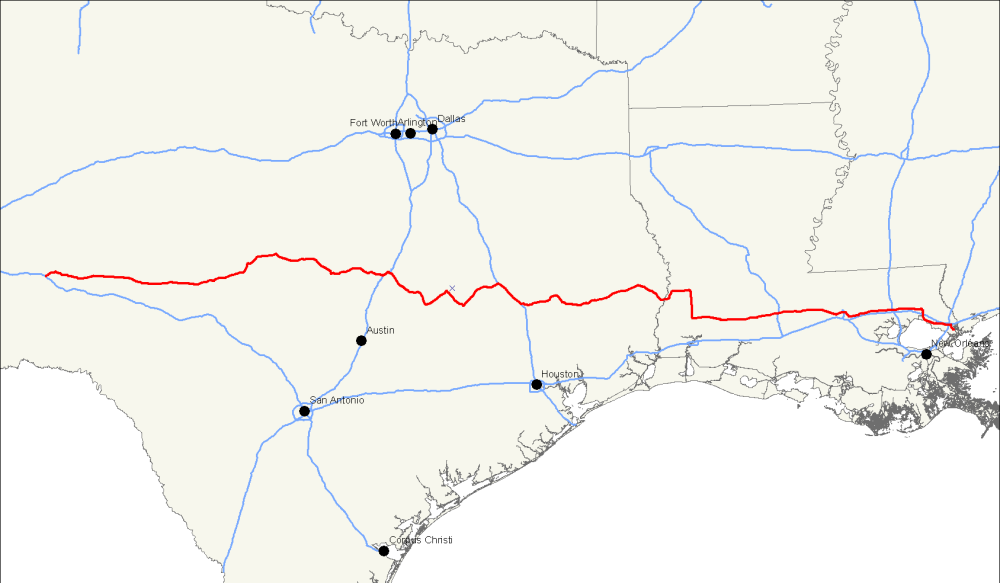 New Interstate Highway In Central Texas Could Have An Impact On - Texas interstate map