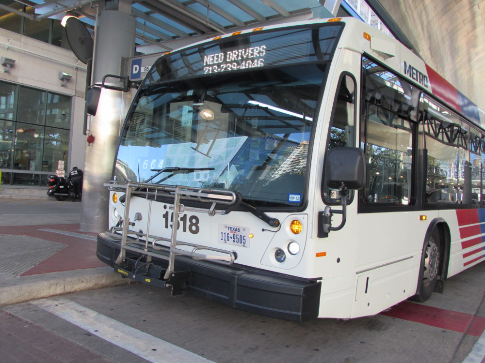 houston public transportation airport to downtown