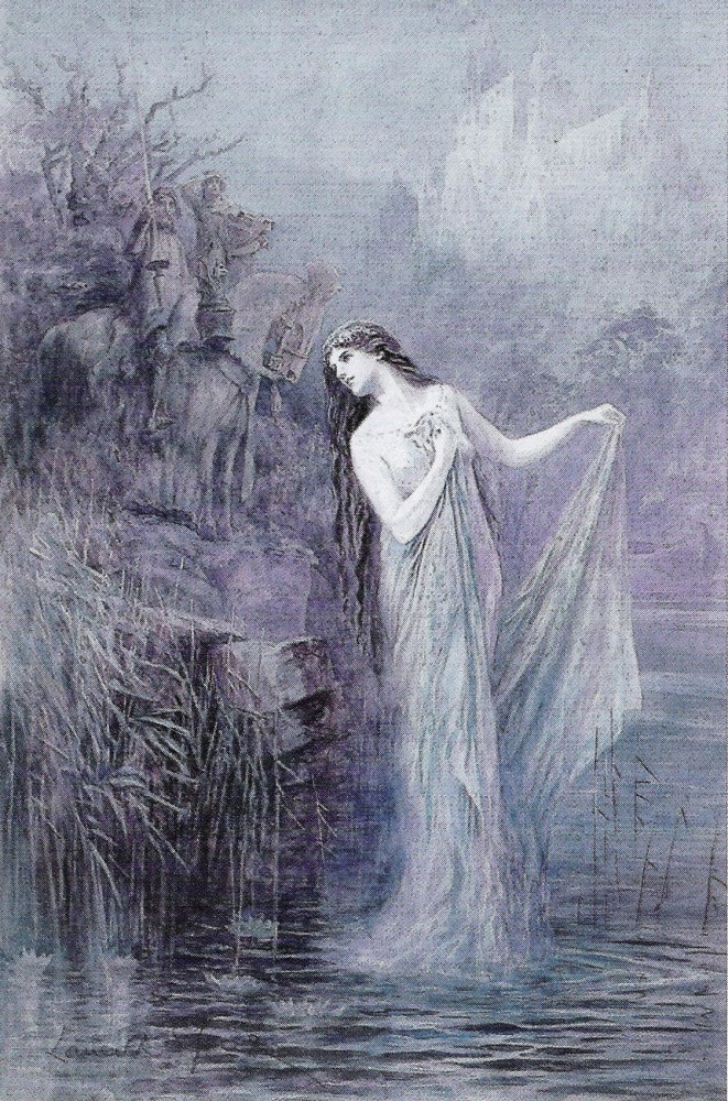 "Lancelot Speed (1860-1931), ""The Lady of the Lake"""