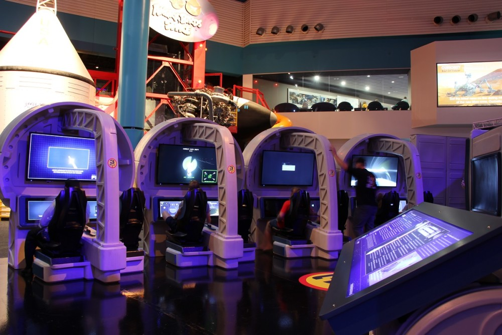 Visitors design their own deep space adventure in Space Center Houston's