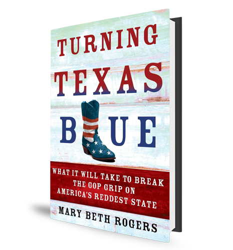 Turning Texas Blue Mary Beth Rogers Book Cover